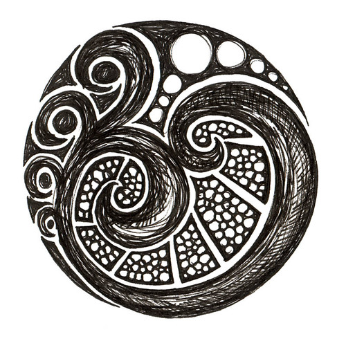 Art: Swirls and Pearls